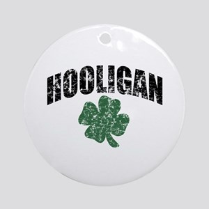 Hooligan Distressed Ornament (Round)