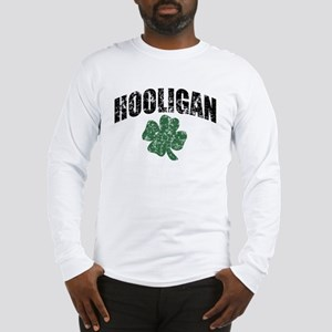 Hooligan Distressed Long Sleeve T-Shirt
