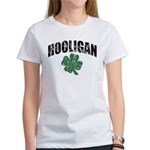 Hooligan Distressed Women's T-Shirt