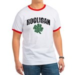 Hooligan Distressed Ringer T