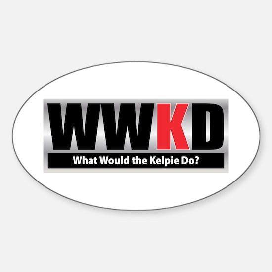 WW the Kelpie D Oval Decal