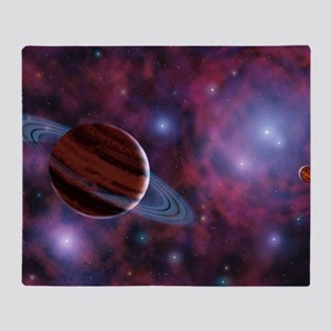 Free-floating planets Throw Blanket