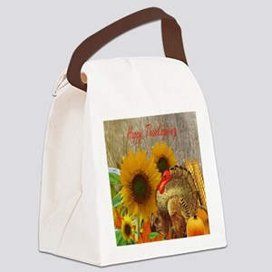 Thanksgiving Holiday Canvas Lunch Bag