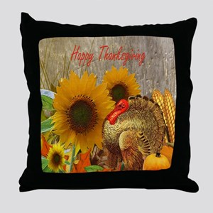 Thanksgiving Holiday Throw Pillow