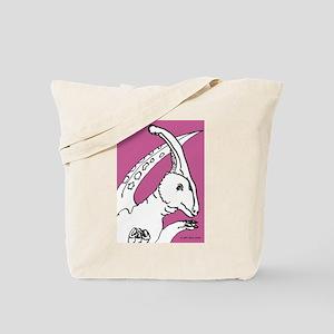 Parasaurolophus Pink! Tote Bag