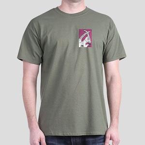 Parasaurolophus Pink! Dark T-Shirt