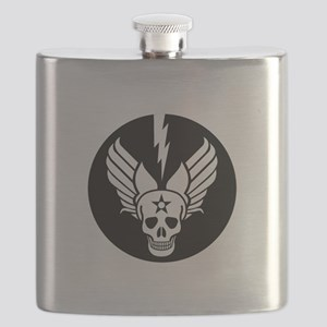 Death From Above - Mors Ab Alto Flask