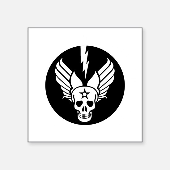 """Death From Above - Mors Ab  Square Sticker 3"""" x 3"""""""