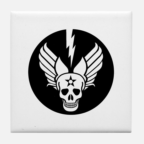 Death From Above - Mors Ab Alto Tile Coaster
