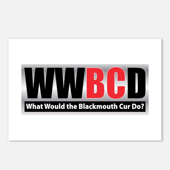 WW the Blackmouth Cur D Postcards (Package of 8)
