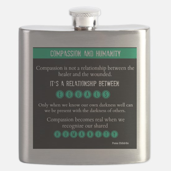Compassion and Humanity: Pema Chödrön Flask
