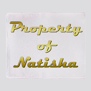 Property Of Natisha Female Throw Blanket