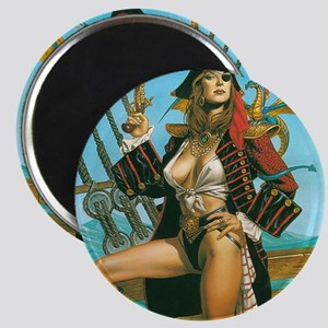 pin-up pirate Magnet