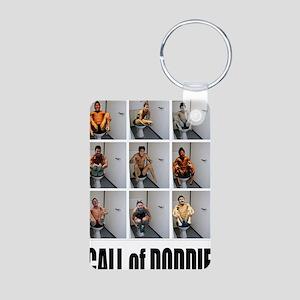 call of doodie Aluminum Photo Keychain