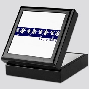 Costa del Sol, Spain Keepsake Box