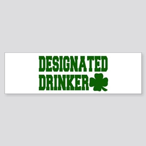 Designated Drinker Bumper Sticker