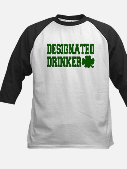 Designated Drinker Kids Baseball Jersey