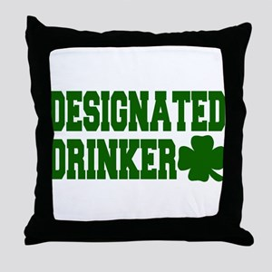 Designated Drinker Throw Pillow