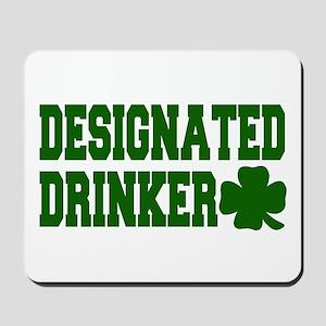 Designated Drinker Mousepad