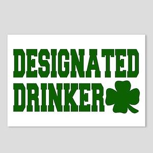 Designated Drinker Postcards (Package of 8)