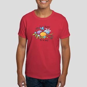 Easter Egg Rejoice Dark T-Shirt