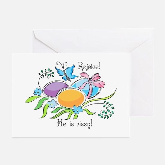 Easter Egg Rejoice Greeting Cards (Pk of 10)