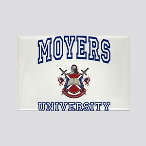 MOYERS University Rectangle Magnet