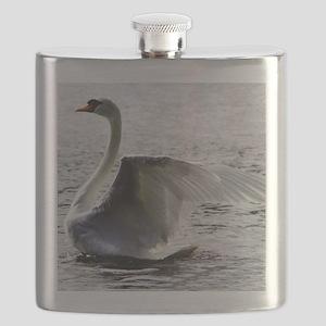 Swan Calendar January Flask