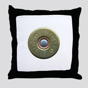shotgun shell fixed Throw Pillow