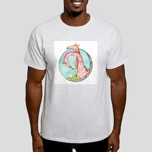 Colorful Giraffes Light T-Shirt