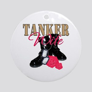 Tanker Wife Ornament (Round)