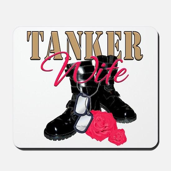 Tanker Wife Mousepad