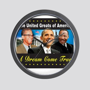 The United Greats Of America Wall Clock