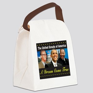 The United Greats Of America Canvas Lunch Bag