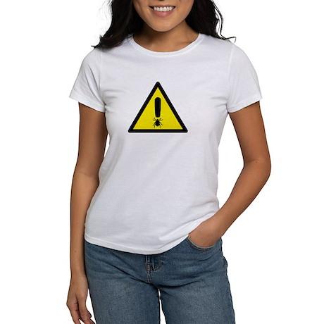 Tick Warning Women's T-Shirt