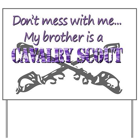 8bdf2feb Proud Army Sister T-Shirt 19D Cav Scout Yard Sign by Admin_CP45435516