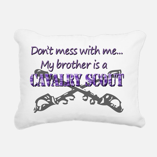 Proud Army Sister T-Shir Rectangular Canvas Pillow