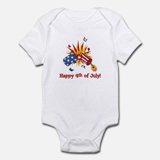 Firecracker 4th Infant Bodysuit