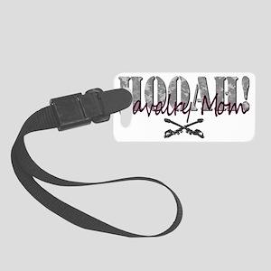 Cav Mom Army T-Shirt Small Luggage Tag