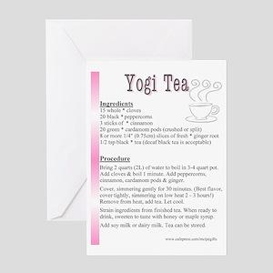 Yogi Tea Recipe Tea Pot Greeting Card