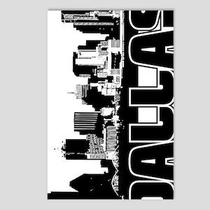 Dallas Skyline V Postcards (Package of 8)