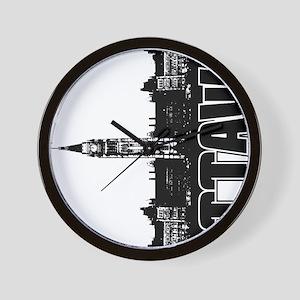 Ottawa Skyline V Wall Clock