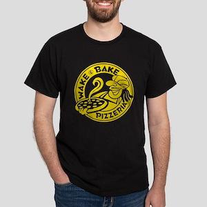 Wake & Bake Pizzeria (dark) Dark T-Shirt