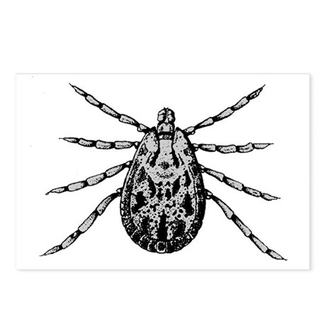 Tick Postcards (Package of 8)