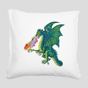 Dragons Lair B Square Canvas Pillow