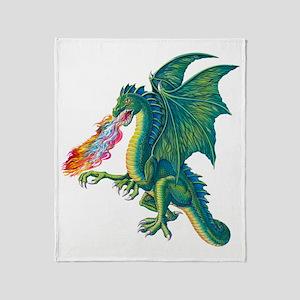 Dragons Lair B Throw Blanket