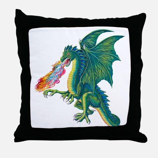 Dragons Lair B Throw Pillow
