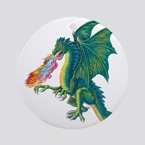 Dragons Lair B Round Ornament