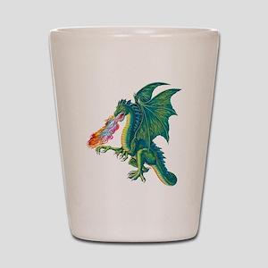 Dragons Lair B Shot Glass