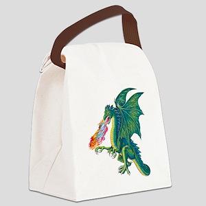 Dragons Lair B Canvas Lunch Bag
